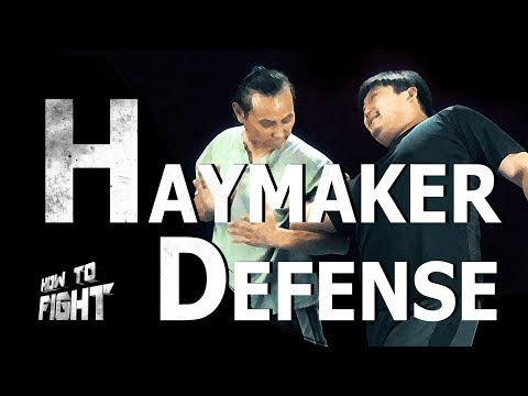 Defense against Wild Haymaker Punches | TaekwonWoo