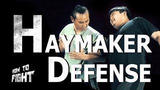 Defense against Wild Haymaker Punches | TaekwonWoo