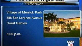 Fashion's Night Out at VMP WPLG 10 News Thumbnail