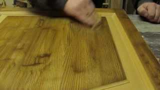 Реставрация дверей и мебели(Удаление загрязнений. Шлифовка лака. Покраска краской Tikkurila и масло воском Osmo., 2014-03-01T21:47:46.000Z)