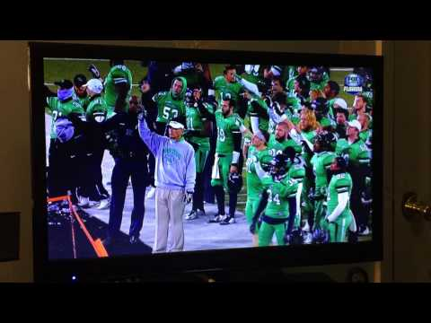 Mike Canales Final Alma Mater at UNT