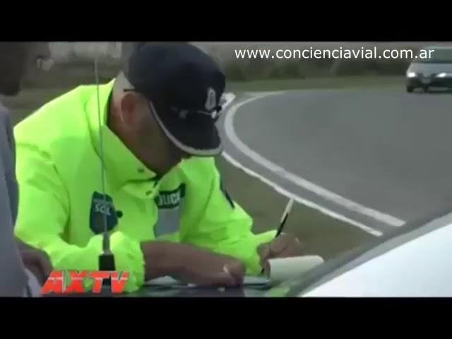¿Cuál es el procedimiento para hacer un control de tránsito?