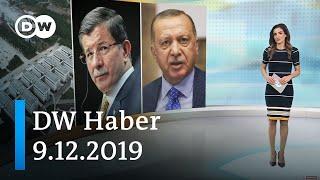 DW Haber: Erdoğan ve Davutoğlu arasında Şehir Üniversitesi tartışması (9.12.2019) - DW Türkçe