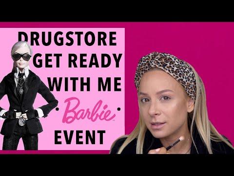 GRWM με Drugstore Προϊόντα   Πηγαίνω να γνωρίσω την πρώτη Barbie Ελληνίδα!   Gina