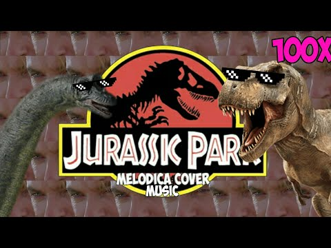 Jurassic Park Theme Song (Melodica Cover) 100x!