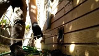 Работа в США. $250 в час. Дерьмовая работа. Очистка вентиляции сушилки. Dryer air duct cleaning.