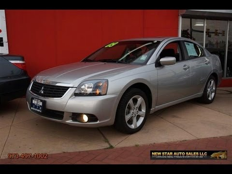2009 Mitsubishi Galant 2.4 ES Sedan - YouTube