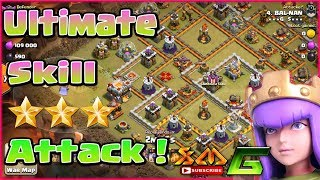 Clash of Clans💝 👉NEW 2018💝ULTIMATE SKILL ATTACK MAX TH11 3-STAR WAR BASE⭐STRONGEST ARMY !