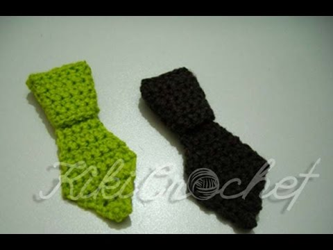 Crochet Mini Tie Youtube