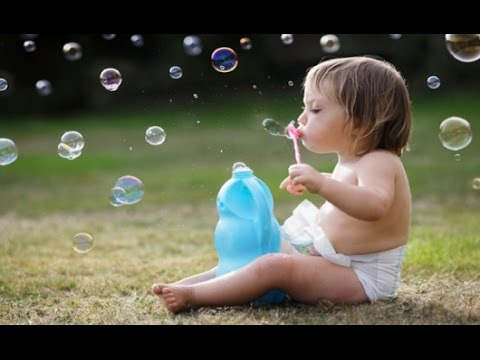 Cute Babies Blowing Bubbles Compilation (2014)