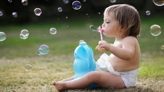 Cute Babies Blowing Bubbles Compilation 2014 [HD]