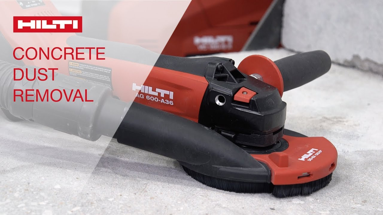 How To Set Up The Dust Removal System On Hilti Grinders