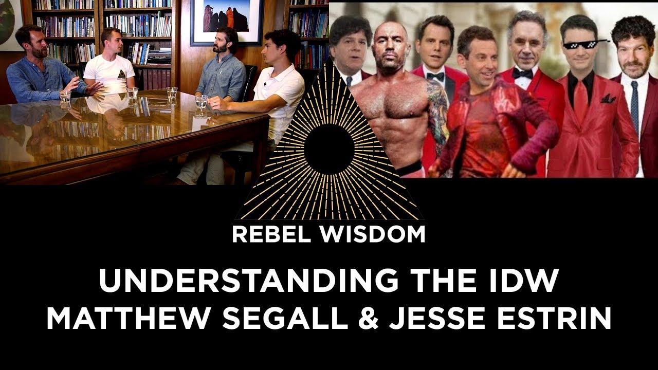 Understanding the Intellectual Dark Web, from the Left