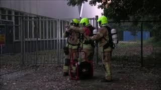 Brand in sportschool P.C. Boutenssingel #Capelle aan den IJssel