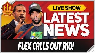 FLEX Calls FERDINAND OUT on SOLSKJAER! Man Utd News Now