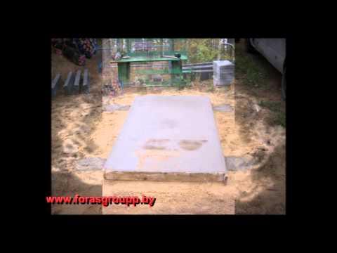 Установка памятника по шагам