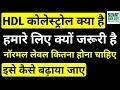 HDL कोलेस्ट्रोल क्या है, HDL Cholesterol, HDL Blood Test, HDL Normal Range, HDL Badhane Ke Tarike