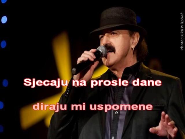 KARAOKE Haris Dzinovic   I tebe sam sit kafano