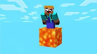 SURVIVING IN MINECRAFT WITH ONLY LAVA!?