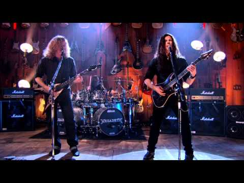 """Megadeth """"Angry Again"""" Guitar Center Sessions on DIRECTV"""
