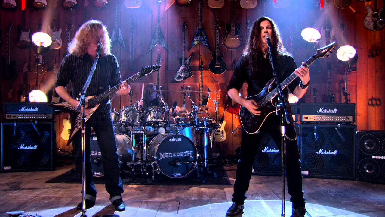 megadeth angry again guitar center sessions on directv youtube. Black Bedroom Furniture Sets. Home Design Ideas