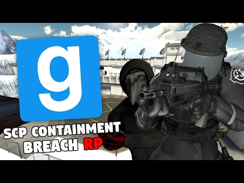 SCP Containment Breach RP (Garry's Mod)