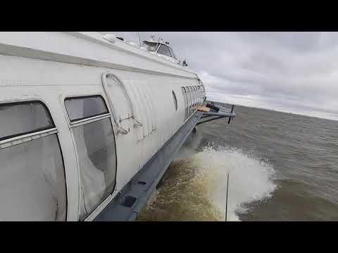 Метеор встаёт на крыло. Финский залив