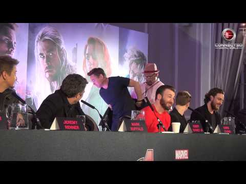 Marvel's Avengers Age of Ultron UK Press Conference