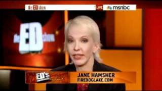 Pat Robertson: Legalize Pot - Jane Hamsher w/ Cenk On MSNBC