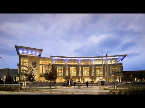 Madison Area Technical College: Campus lighting design makes a statement
