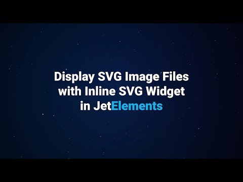 How to Display SVG Image Files on Elementor-built Pages