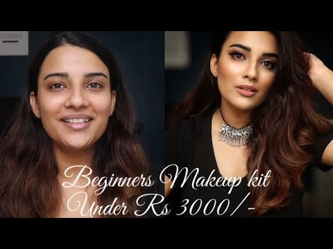 beginners full makeup kit under rs 3000/  with step