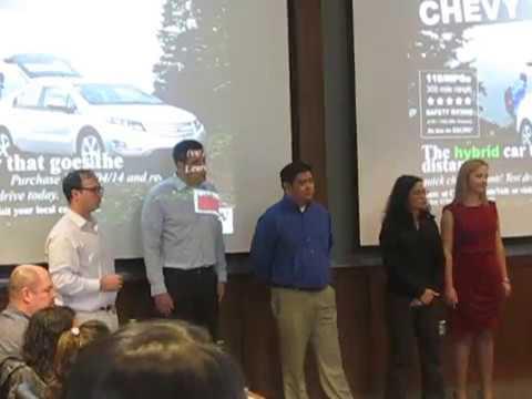 UW EMBA Red Team Presentation - Chevy Volt Value Communication Plan