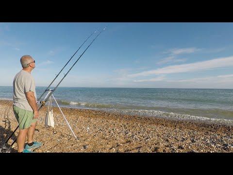 Evening Fishing On Shoreham Beach