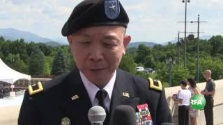 Lễ thăng cấp Chuẩn tướng Mỹ gốc Việt Lapthe Flora