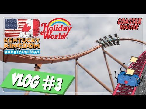 Kentucky Kingdom & Holiday World - The Coasters in the North Tour 2019 | #0.3