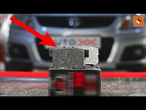 How to replace rear brake pads on SUZUKI SX4 1 TUTORIAL | AUTODOC