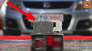 How to replace Gasket set brake caliper on SUZUKI SX4 (EY, GY) - video tutorial