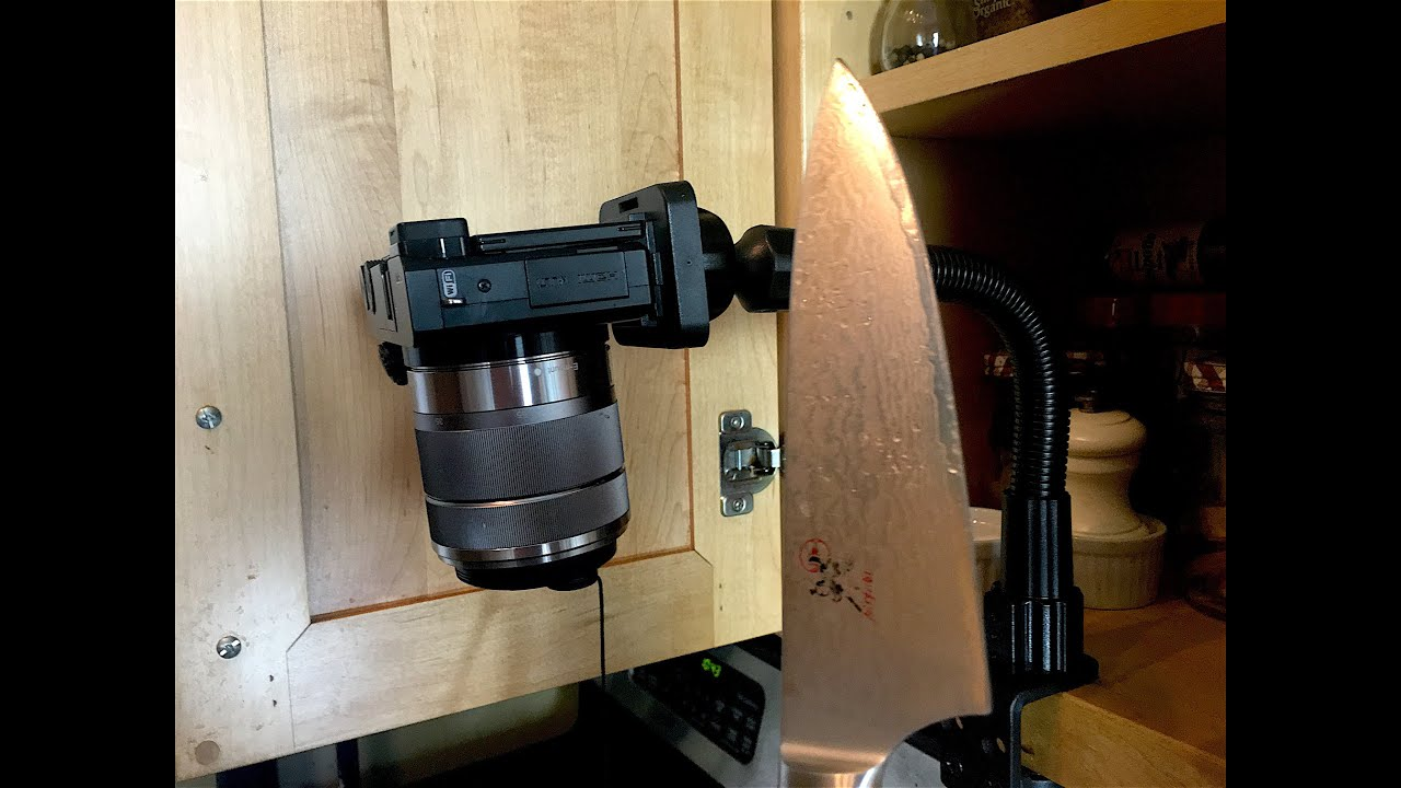 The Kitchen Filming Setup You Cannot Cook Without