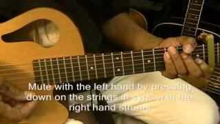 Strumming Pattern UDUD UU How To Strum Ylvis Style #2 On Guitar EricBlackmonMusic