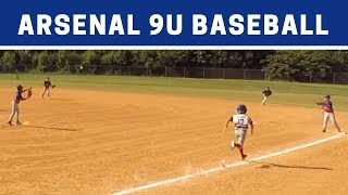 ⚾️ Arsenal vs Rogue | 9U Baseball Highlights
