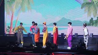 20180311 iKON PRIVATE STAGE RE•-KONNECT 아이콘 팬미팅 - KONIC WORLD #1 B.I, DK, JU-NE, CHAN 등장 @올림픽공원 올림픽홀