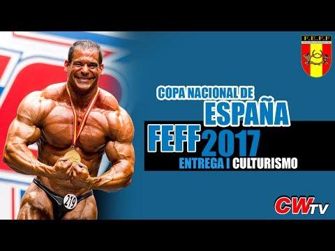 Copa Nacional de España de Fisicoculturismo y Fitness IFBB 2017 (Entrega I: Bodybuilding)