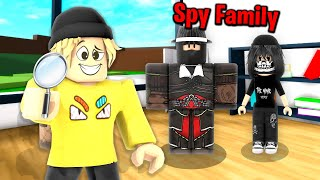 Roblox Spy Family Adopts Me… 🕵️😳(Brookhaven RP)