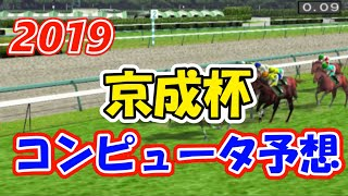 2019年 京成杯 コンピュータ予想【競馬シミュレーション】