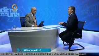 Elías Jaua: Ayer se produjo un gran voto castigo contra la oposición (4/5)
