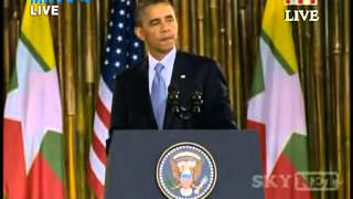 US President's speech at Yangon University On_19.11.2012