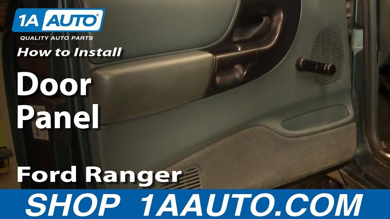 how to remove door panel 93 97 ford ranger [ 1280 x 720 Pixel ]