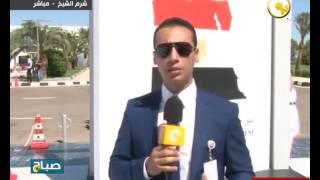 مقابلة مع المتحدثة الرسمية للبرلمان المالاوي على هامش الاحتفال بتأسيس الحياة النيابية في مصر