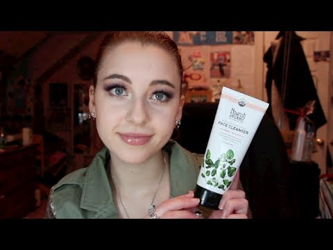 Lathering Cleanser I Actually LIKE?! : Nourish Organics Moisturizing Cream Cleanser